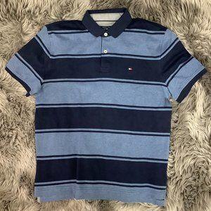 Tommy Hilfiger   Men's T-Shirt   Stripes   Blue